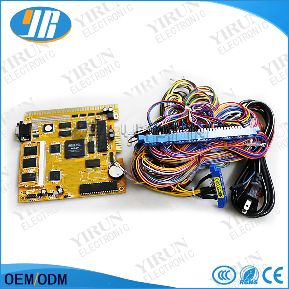 New Mega 7 in 1 (S) V1 Slot game board with 36+10 pin wiring harness ...
