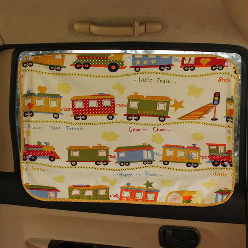 1pc universal Car Side window sunshade curtain Summer Adjustable sunscreen Baby sun shade solar UV protection foils 50*70cm A1
