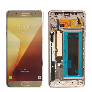 Image 3 - ORIGINAL 5.7 LCD For SAMSUNG GALAXY Note 7 Note FE N930 N930F Display Touch Screen Digitizer Assembly Replacement With Frame