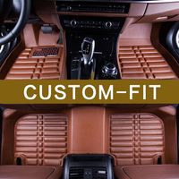 2017 New Arrival Custom Made Car Interior Floor Mats Special Pads For Ford Mondeo Kuga Edge