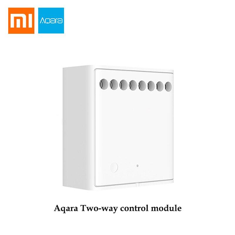 Original Xiaomi Mijia Aqara Two-way control module Wireless Relay Controller 2 channels Work For Mijia APP and Home kitOriginal Xiaomi Mijia Aqara Two-way control module Wireless Relay Controller 2 channels Work For Mijia APP and Home kit