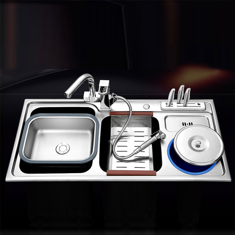 Jan S Kitchen Sink: Kitchen Sink 920*450*220mm Double Bowl Brushed 304