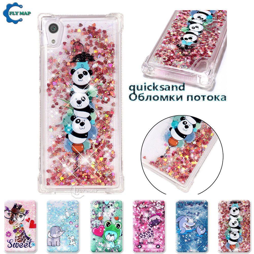 Fitted Cases Cellphones & Telecommunications Diplomatic Case For Sony Xperia Xa1 G3116 G3112 Glitter Stars Dynamic Liquid Quicksand Tpu Case For Sony Xperia Xa 1 G3121 Cases Housing