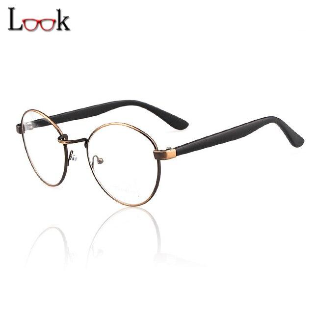 Top Fashion Thick Leg Metal Clear Glasses Frame Brand Eye Glasses ...