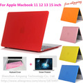 Crystal Hard Surface Full Protective Fundas Capa Laptop Cover Case for Macbook Air 11 13 Pro 13 15 Pro Retina 12 13 15