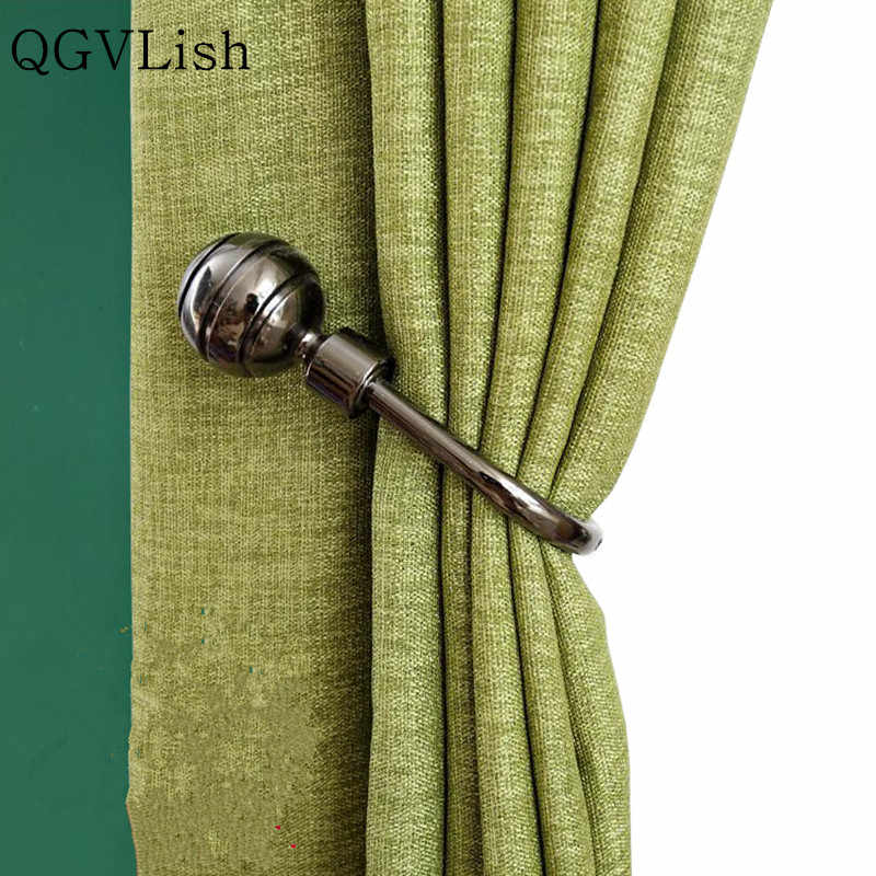 qgvlish 2pcs u shape curtain hooks tassel tower hanger brush holder curtain accessories drapery wall hook tieback holder decor