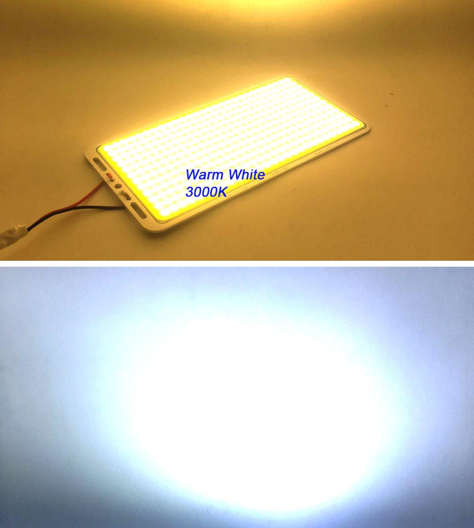 200w 12v cob led panel light car lighting bulbs outdoor lamp (12)
