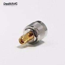 10pcs N   male plug  switch SMA   male plug  RF Coax Adapter convertor Straight  Nickelplated  NEW wholesale