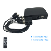 New 4ch CCTV Mini AHD Video Recorder DVR 1080H Real Time CCTV Hybrid DVR NVR Support