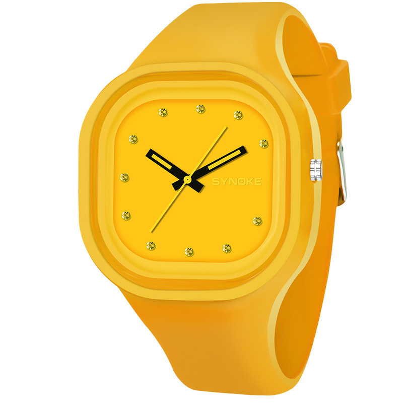 Children Waterproof Luminous Cute Watch Student Sports Silicone Quartz Wrist Watch LL@17