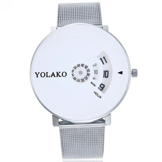 Business Stainless Steel Watch Men and Women Watches Brand Luxury Famous Quartz