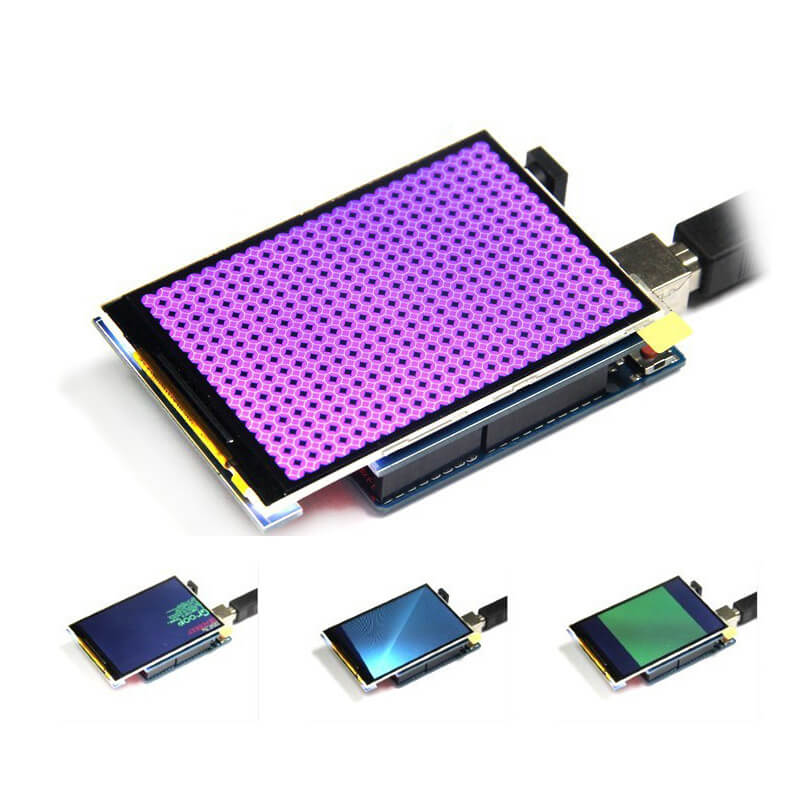 Elecrow 3.5 Inch <font><b>TFT</b></font> Color Screen Module DIY Kit ultra-HD 320 X 480 Support for <font><b>Arduino</b></font> UNO Mega2560 STM32 Microcontrollers image