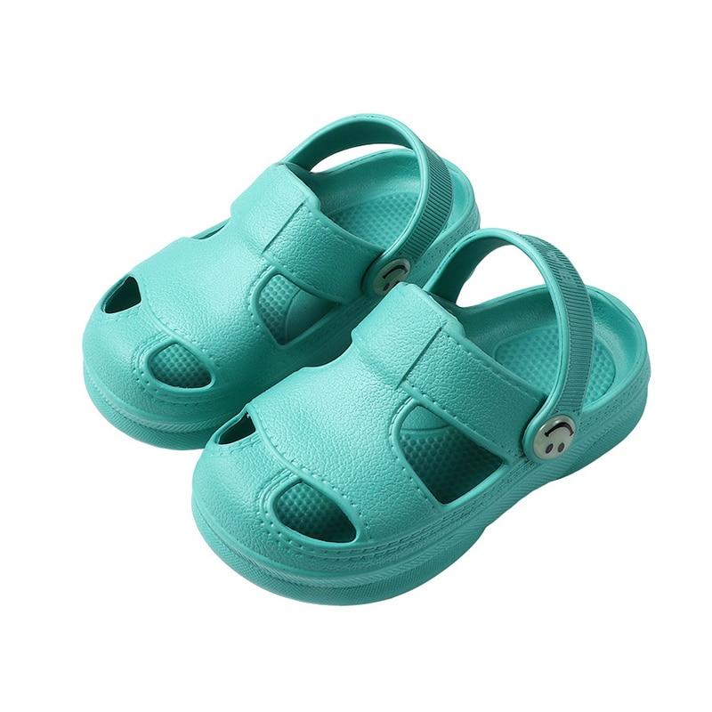 Kids Clogs Girl Shoes Plain Toddler Slippers Kids Beach Sandals EVA Baby Boys Clog Shoes New Arrival Children Garden Shoes Girls