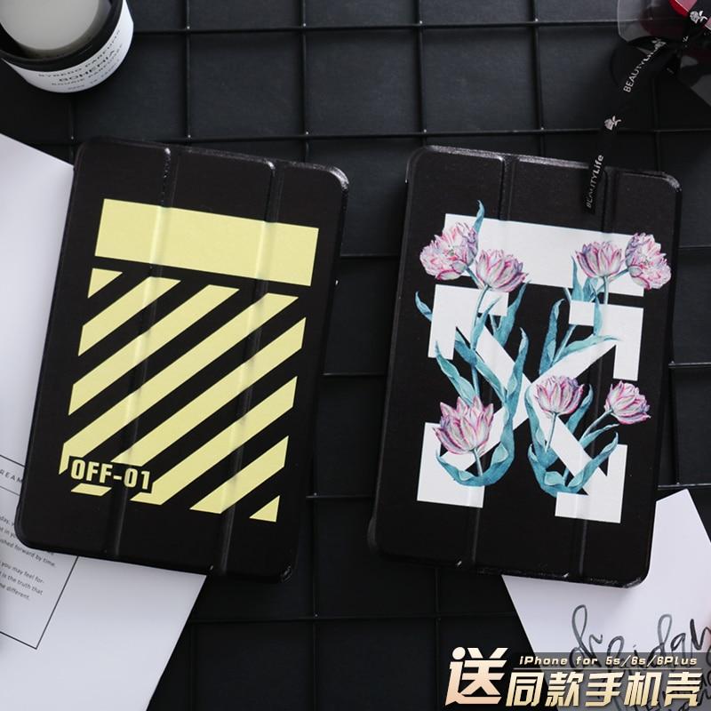 Flower Mini4 Mini2 Mini3 Flip Cover For iPad Pro 10.5 9.7 2017 Air Air2 Mini 1 2 3 4 Tablet Case Protective Shell 10.5 9.7 personal cartoon boat mini4 mini2 mini3 lovers flip cover for ipad pro 9 7 air air2 mini 1 2 3 4 tablet case protective shell