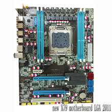 desktop motherboard new X79 motherboard 2011 pin compatible 8G memory mainboard free shipping