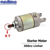 High Quality Starter Motor Starting motor for YP250 250cc 300cc Linhai Feishen Engine Moped scooter ATV