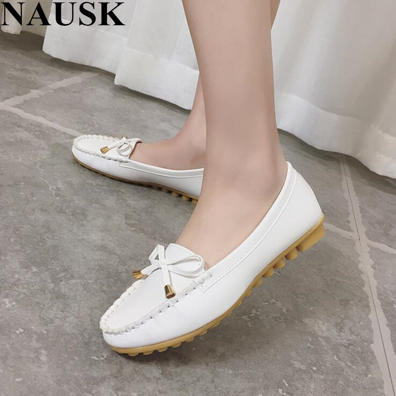 NAUSK Flat Shoes Women Autumn Slip On Shoes For Women Loafers Moccasin Womens Zapatos Mujer Ballet Flats Womens Shoes WomanNAUSK Flat Shoes Women Autumn Slip On Shoes For Women Loafers Moccasin Womens Zapatos Mujer Ballet Flats Womens Shoes Woman