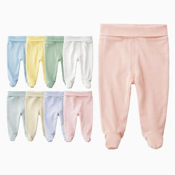 Cotton High Waist Pants 1