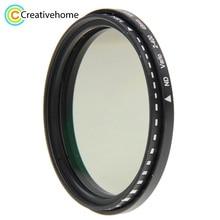 49mm 52mm 58mm 62mm 68mm 72mm 77mm 82mm ND Filter Lens ND Fader Neutral Density Adjustable Variable Filter ND 2 to ND 400 Filter