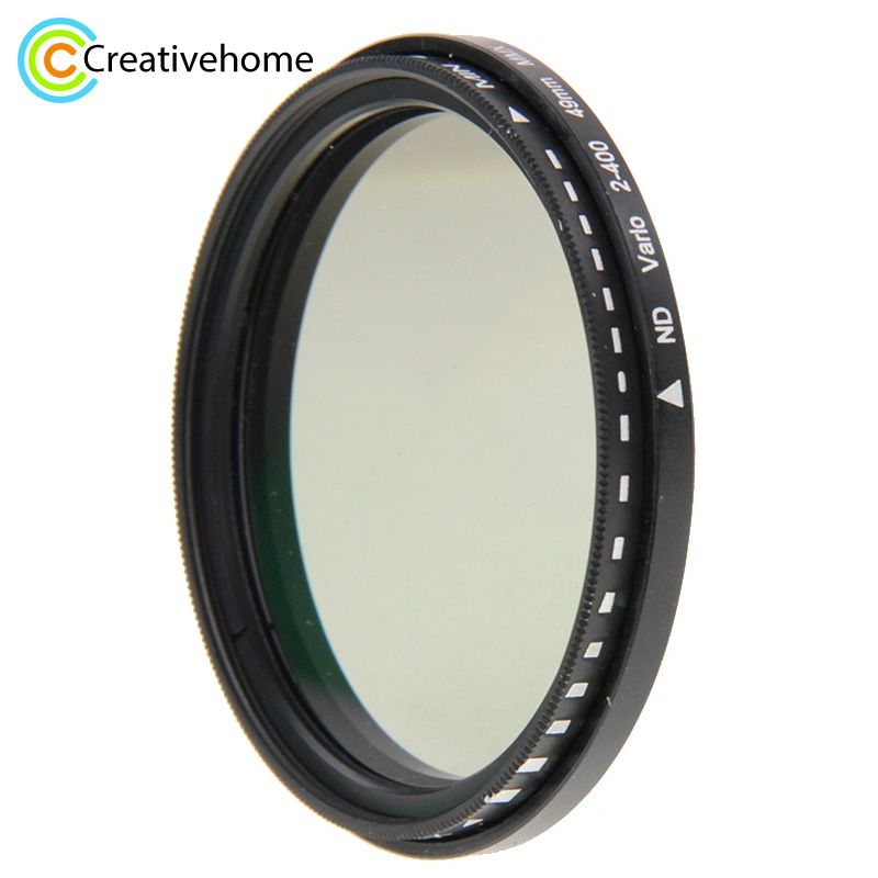 49mm 52mm 58mm 62mm 68mm 72mm 77mm 82mm ND Filter Objektiv ND fader Neutral Density Einstellbare Variable Filter ND 2 bis ND 400 Filter