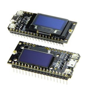 Image 3 - LILYGO®2 pièces TTGO LORA32 V1.0 868/915MHz ESP32 LoRa OLED 0.96 pouces affichage Bluetooth WIFI ESP 32 Module de carte de développement