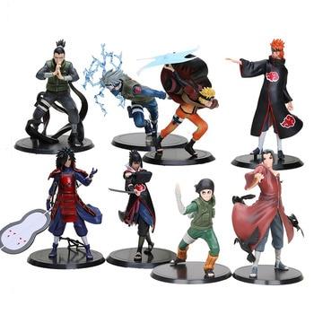 Lote de Figuras de Naruto (Incluye 2 x Lote) Figuras de Naruto Merchandising de Naruto