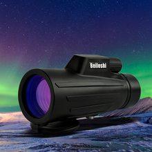 10x52 Monocular Outdoor Birding Traveling Sightseeing Hunting tube Telescope Mini Monocular Outdoor Hunting Camping Scope