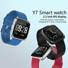 Y7 Pulseira Inteligente Tela Colorida de Exercício Freqüência Cardíaca À Prova D' Água Medidor de Pressão Arterial Etapa Foto Inteligente Lembrete Relógio Pulseira