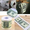 1 Rolo One Hundred Dollar Bill Toilet Paper $100 Rolo de Dinheiro Da Novidade do Divertimento de Aniversário Da Mordaça Joke Presente de Natal Dia Das Bruxas Prop