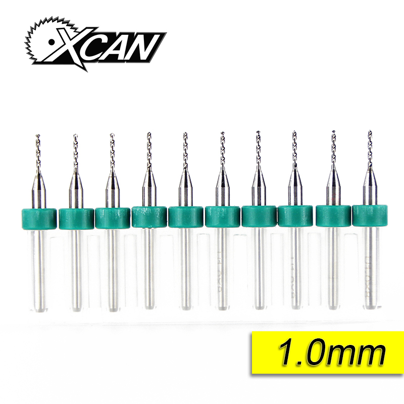 цена на 10pcs 1.0mm /micro PCB milling cutter /PCB Print Circuit Board Drill Bits, Carbide Micro Drill Bits/Free Shipping