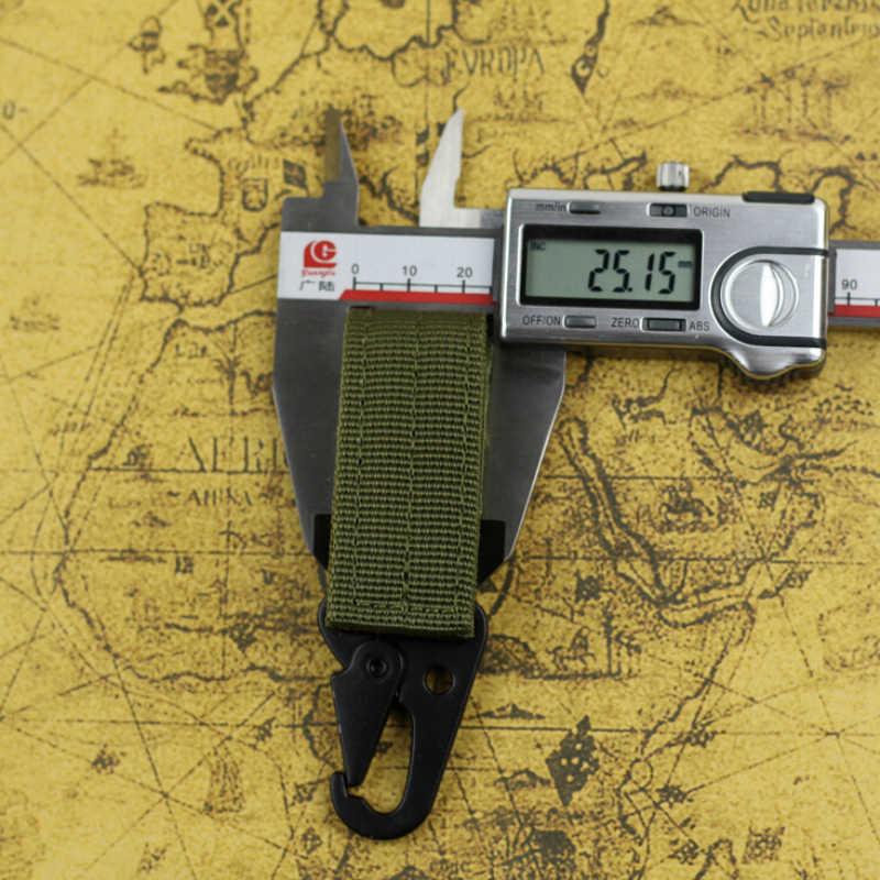 Quickdraw Toka Açık Survival Yürüyüş Kamp Ekipmanları Çantanıza Askeri Avcılık Dokuma Toka Taktik Kemer Klip Kanca