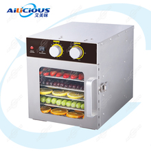 ST04 Electric Vegetable Fruit Food Dehydrator Stainless Steel Food Dryer 6 Layers 220V Home Commercial Use with Timer Trays 5 layers food dehydrator machine professional electric multi tier food preserver beef jerky maker fruit vegetable dry 220v