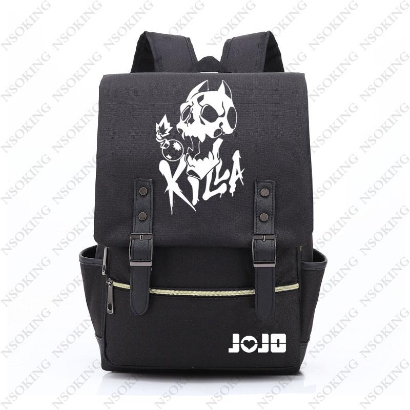 JOJO S BIZARRE ADVENTURE backpack oxford Bag Schoolbag Travel Bags