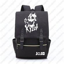 Купить с кэшбэком JOJO'S BIZARRE ADVENTURE backpack oxford Bag Schoolbag Travel Bags