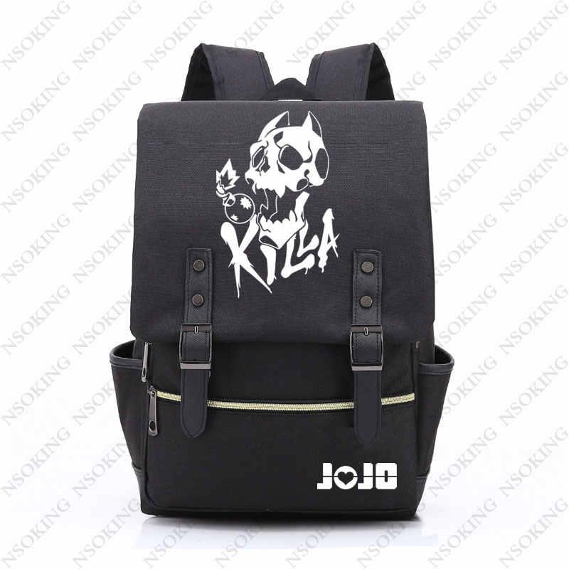 83d7c4bd67f8 JOJO'S BIZARRE ADVENTURE backpack oxford Bag Schoolbag Travel Bags
