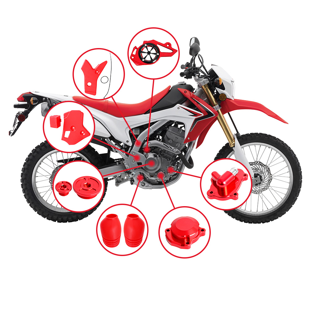 Motocycle CNC Refit High strength Full Eye catching Parts For Honda CRF250L CRF250M 2012 2013 2014 2015