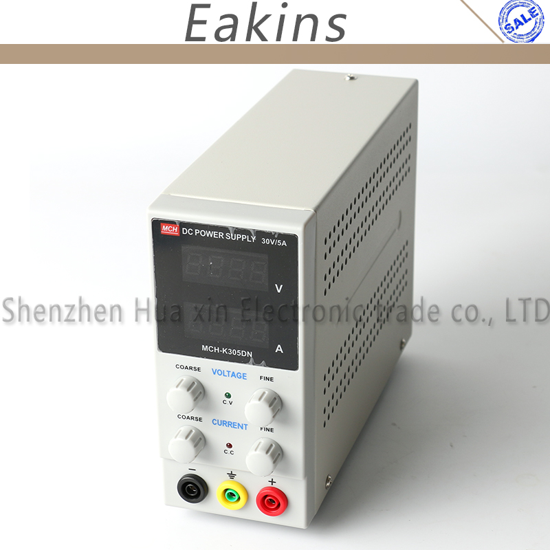 MCN-K305DN Mini Switching Regulated Adjustable DC Power Supply 220V 110V SMPS Single Channel 30V 5A Variable 0.01A 0.001V цена и фото