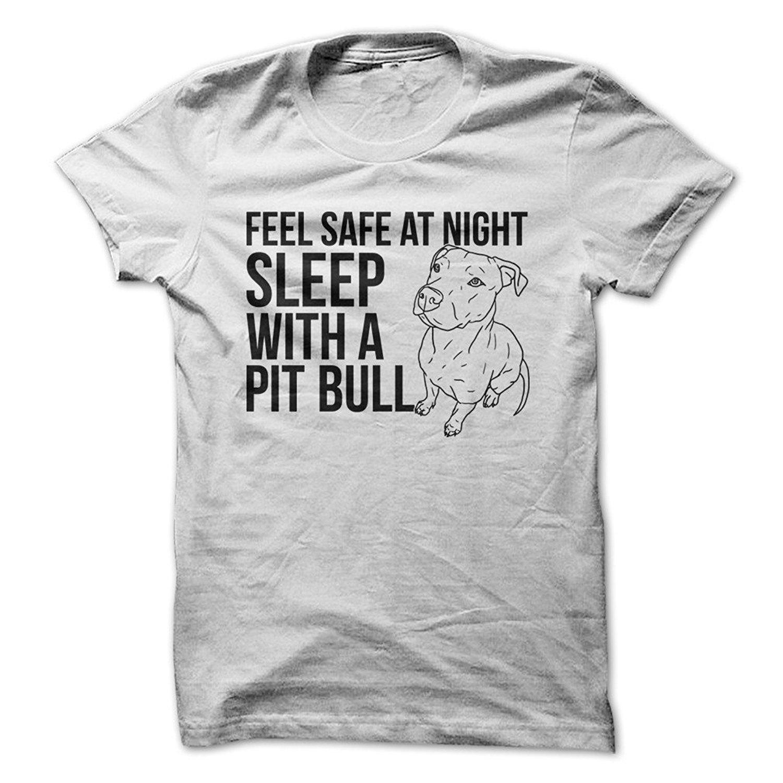 Возьмите боялись-спать с питбуля-забавная Футболка-сделано по требованию в США
