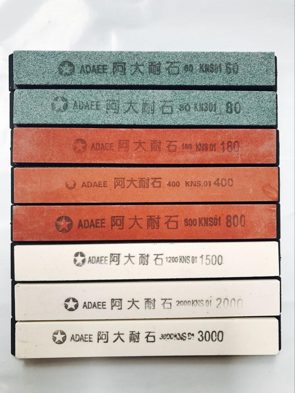 Piedras de afilado de cuchillos grano 180,1500 800 400 Para sistema de afilado