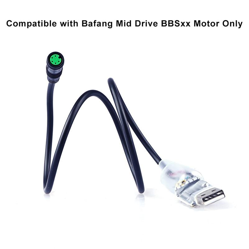 USB Programming Cable for Bafang 8Fun BBS01 BBS02 BBSHD Mid Drive Motor Kit
