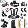 Gopro Accessories Set Helmet Harness Chest Belt Head Mount Strap For Go Pro Hero 4 3