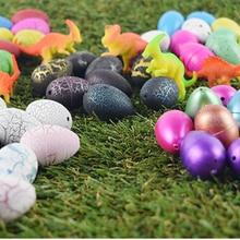 30 шт./лот, Волшебные Растущие динозавры, инкубационные яйца, динозавры, добавляют воды, надувные детские игрушки