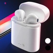 I7s tws bluetooth fone de ouvido sem fio fones esporte estéreo fone para iphone 7 8 x xs xr xiaomi redmi k20 7 pro