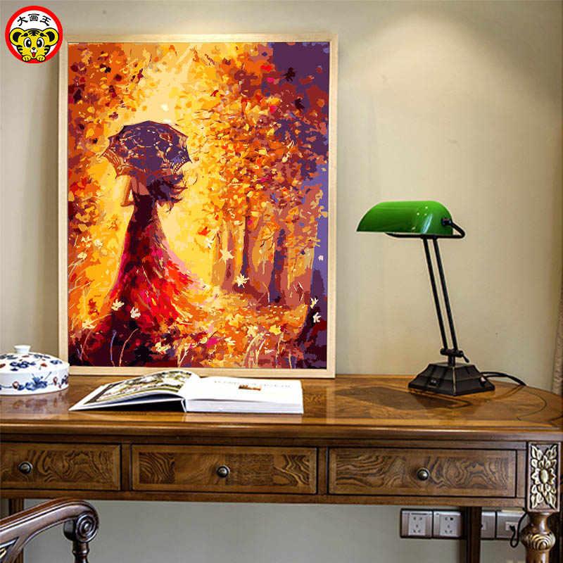 Картина по номерам художественная краска по номерам заполняющий цвет абстрактные животные густая масляная мульти краска нож рисовать большой красный петух цвет холст