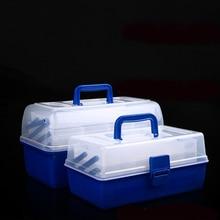 Складная коробка для инструментов, коробка для инструментов, складная коробка для инструментов, многофункциональная коробка для инструментов, пластиковая коробка для инструментов, коробка для хранения рыболовных снастей