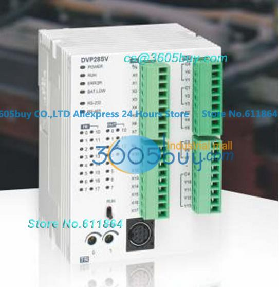 New original DVP28SV11T 16DI/12DO Delta PLC Module SV series