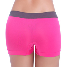 Women Panties Safety Short Pants Low Waist Body Shape Underwear Breathable Summer Boxers Seamless Sexy Boyshort Pants For Female