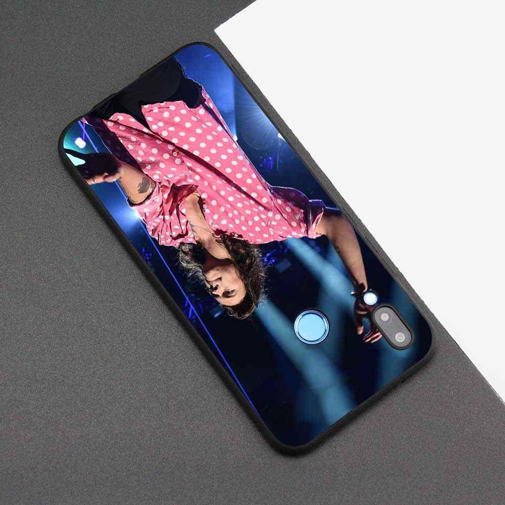 黒バッグソフトシリコンケースカバー huawei 社 honor 8X 8C 8A 10 20 Y6 Y9 2019 Lite 再生楽しむ 9S 9E 20i 電話ハリースタイル