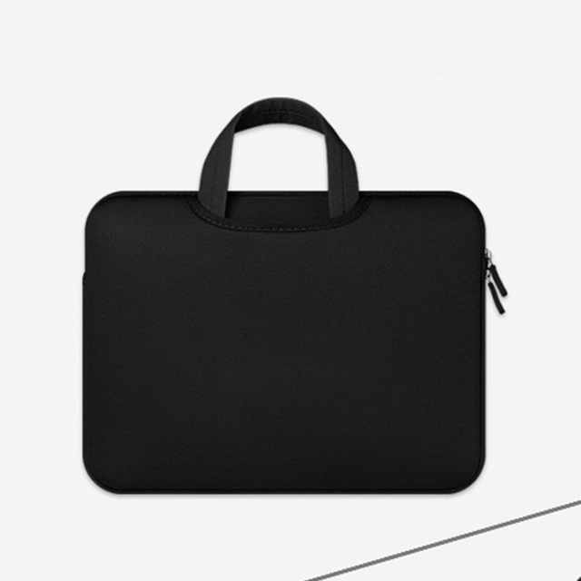 7f23866f6162 US $9.45 15% OFF|10/11inch Handbags Laptop Case Carrying Pouch with Zipper  Anti Shock Dustproof for Computer Outdoor Tablet Sleeve Soft Portable-in ...