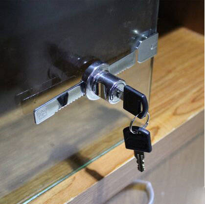 Aliexpress Buy 2pcs Universal Key Type Sliding Glass Cabinet